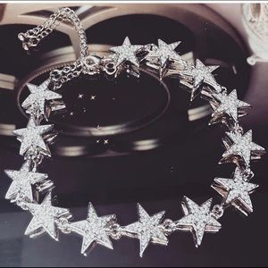 Jewelry - Silver star choker